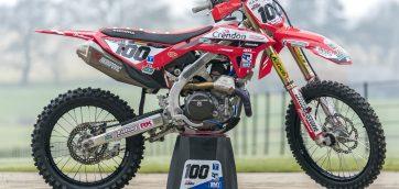 Motocross Honda CRF 450 R