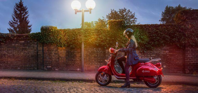 Un scooter électrique